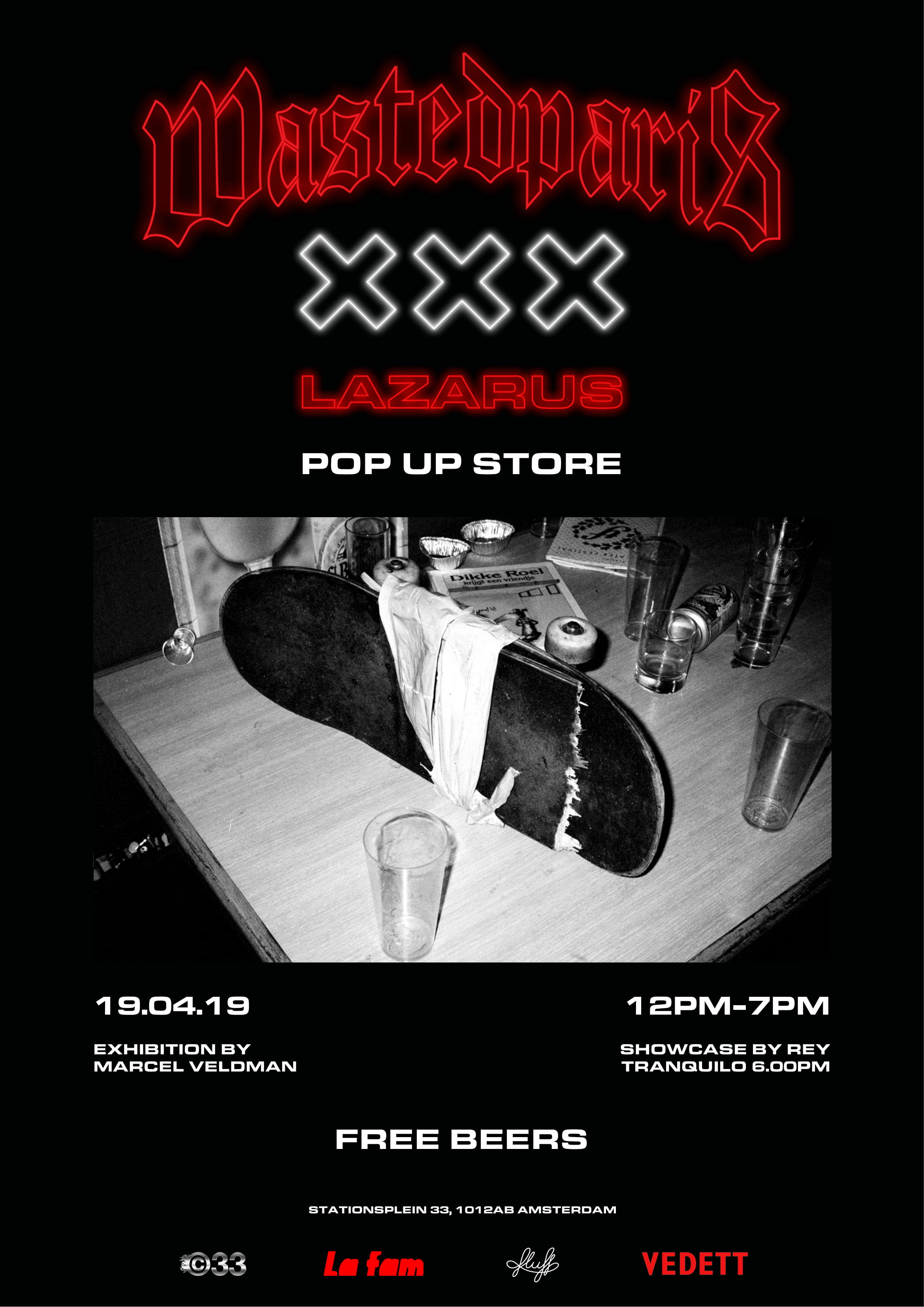 985146839c12fe Wasted Paris Pop-Up Store & Events | On The Roll Magazine